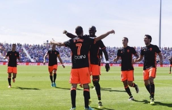 (Crónica) El Valencia despierta del letargo y remonta ante el Leganés