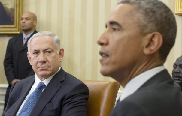 "Obama pide evitar otra ""tragedia"" en O.Medio y Netanyahu poner freno a Irán"