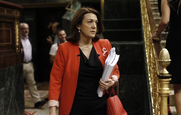 """Soraya Rodríguez pide a Sánchez """"no atrincherarse"""" en interpretaciones estatutarias y facilitar una salida política"""