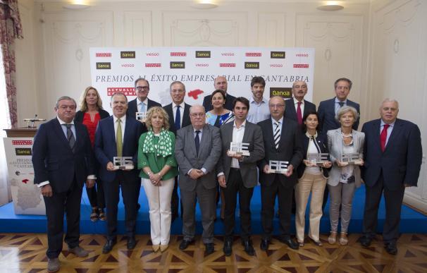 Lafuente, Centro Botín, Erzia, Vitrinor, Siderit y Grupo Vela, premios al éxito empresarial