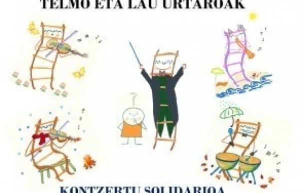 TEL-Euskadi organiza para el día 2 de octubre un concierto solidario a beneficio de la investigación del TEL