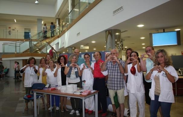 Los hospitales públicos de Málaga se suman a la celebración del Día Mundial del Corazón