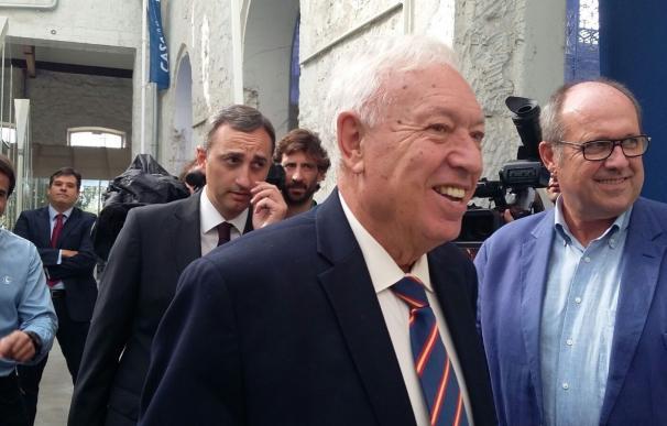 García-Margallo espera convencer a los gibraltareños de que la cosoberanía es la mejor fórmula tras el Brexit