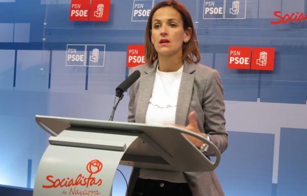 """Chivite (PSN) dice que Sánchez es el secretario general del PSOE y que las dimisiones son una """"jugada mal hecha"""""""