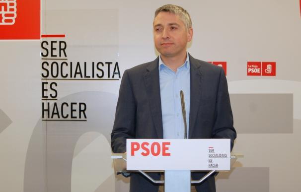 """""""El sentir mayoritario del PSOE en La Rioja es de apoyo a Pedro Sánchez"""""""