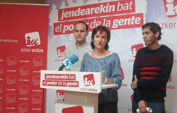 """Ezker Anitza-IU emplaza a EH Bildu y PSE a """"forjar una alternativa de futuro"""" al PNV"""