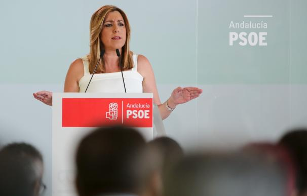 Susana Díaz intervendrá a las 18,00 horas ante al Comité Director del PSOE-A