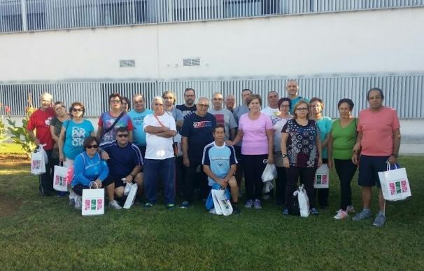 El Hospital de Montilla organiza la Ruta Senderista 'Corazón sano' con pacientes tratados en rehabilitación
