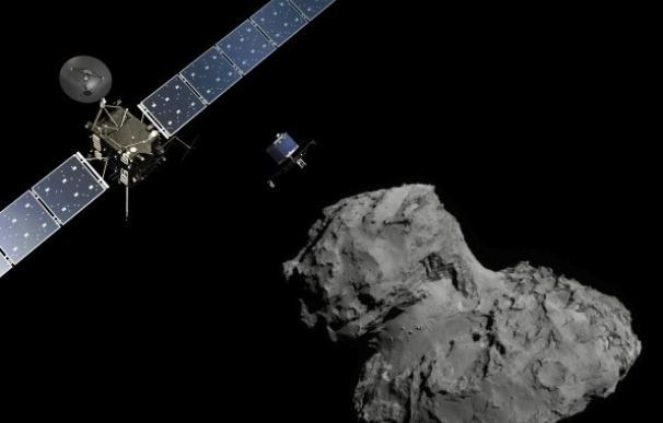 La nave Rosetta pondrá mañana fin a su misión tras 12 años en el espacio