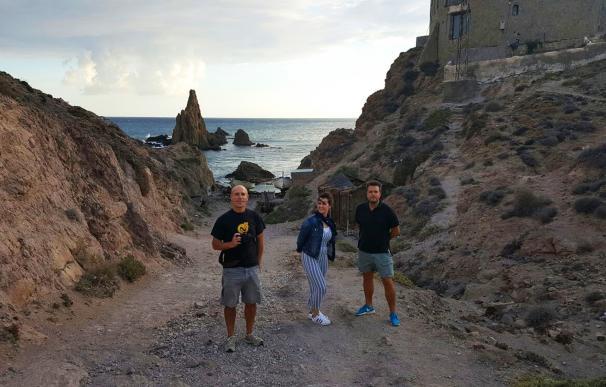 Filming Almería enseña la provincia a tres cineastas con la idea de atraer nuevos proyectos audiovisuales