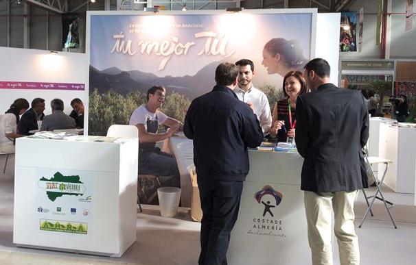 El interior de 'Costa de Almería' se promociona en la Feria 'Tierra Adentro' de Jaén