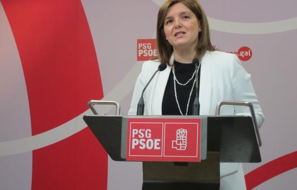 La presidenta de la gestora del PSdeG recalca su apoyo a Sánchez y su apuesta por un congreso para que las bases decidan