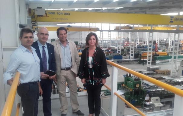 La alcaldesa y el delegado de Economía visitan la nueva sede de Silos Córdoba en Rabanales 21