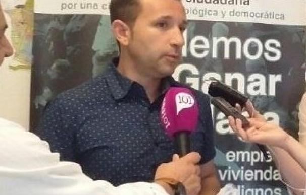 El edil de Málaga Ahora Juanjo Espinosa deja en manos de una asamblea su continuidad en el Ayuntamiento