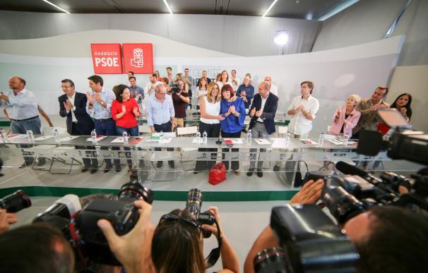 El Comité Director del PSOE-A respalda que el congreso del partido se celebre cuando haya gobierno