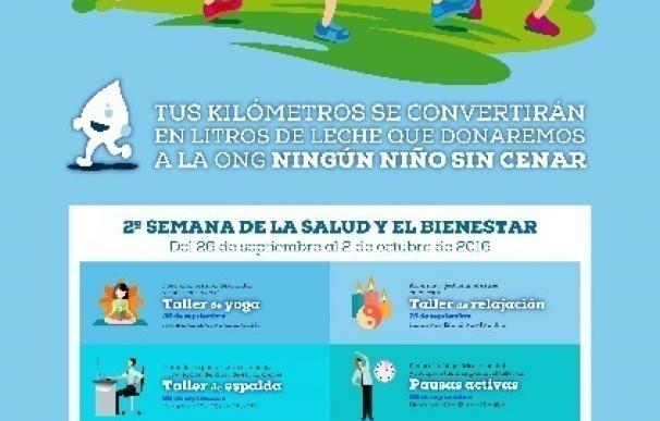 Central Lechera Asturiana organiza para sus empleados y familiares la segunda Semana de la Salud y el Bienestar