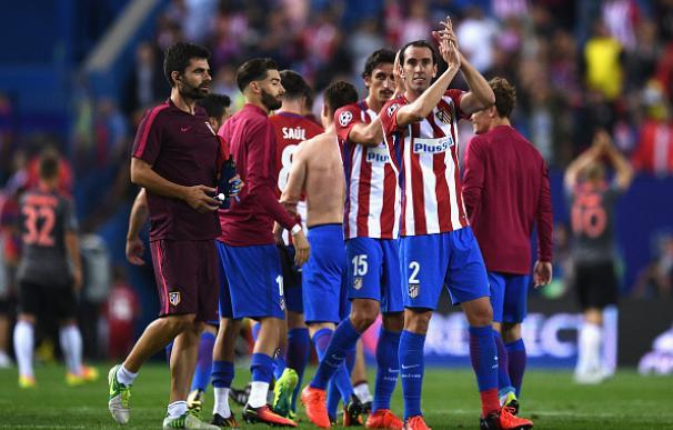 El Atlético ha corrido 17 kilómetros más que el Real Madrid en la Champions