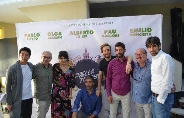 Un triángulo amoroso cocina el filme 'Paella Today!', una gastrocomedia mediterránea que se estrena en 2017