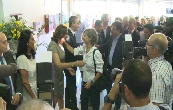 García Tejerina y Fernández Vara destacan la importancia de la Feria Internacional Ganadera de Zafra (Badajoz)