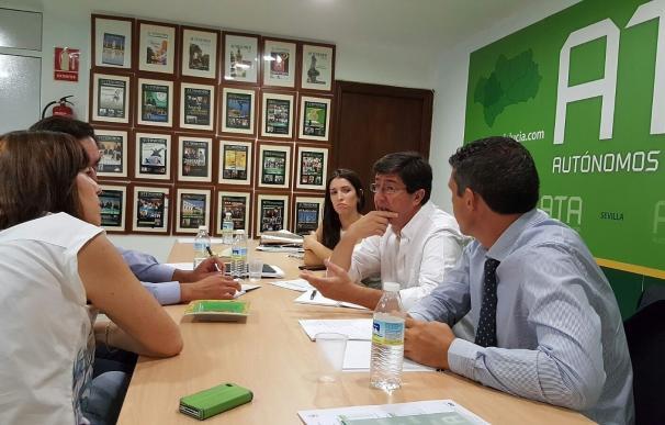 """Marín advierte de que el fomento del trabajo autónomo será una de las """"líneas rojas"""" para el Presupuesto de 2017"""
