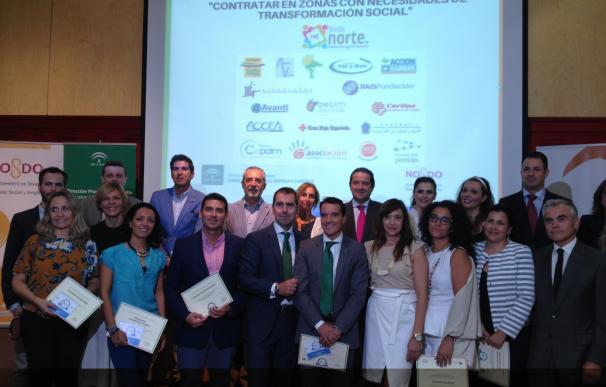 Reconocimiento institucional a 15 empresas por ofrecer empleo a personas de colectivos vulnerables