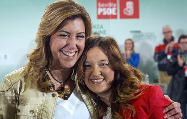 Susana Díaz y Verónica Pérez.