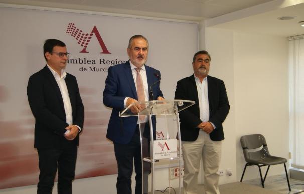 PSOE dice sí al Pacto del Agua pero exige que nazca en el seno de la Asamblea Regional