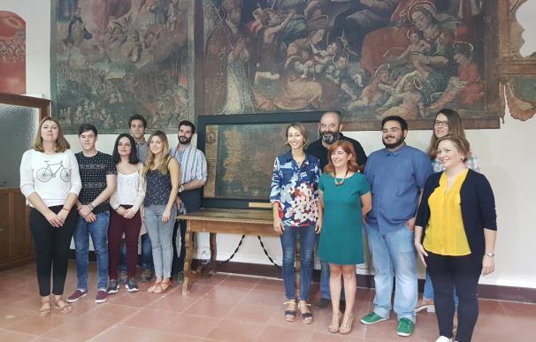 La Universidad de Sevilla restaura a coste cero dos cuadros del siglo XVI del Ayuntamiento de Úbeda