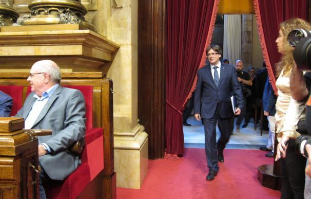 """Puigdemont asegura que el referéndum """"no será otro 9N"""" y tendrá una pregunta clara"""