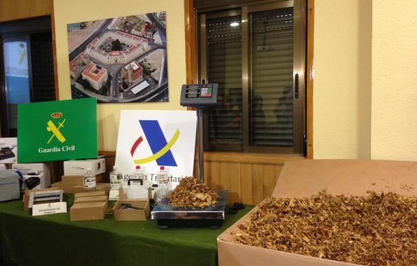 (Am) Intervenidas 100 toneladas de tabaco en Valencia y Badajoz en la mayor incautación de picadura en España