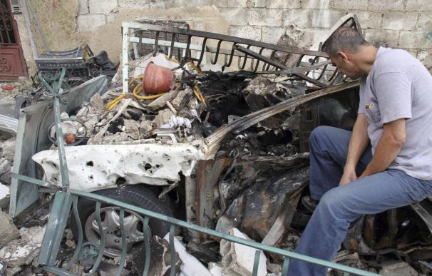 Explota un coche bomba cerca de un edificio de la policía en Damasco