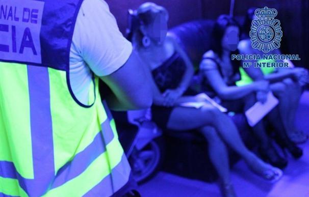 Desarticulan una red dedicada a la explotación sexual y blanqueo de capitales en Alicante