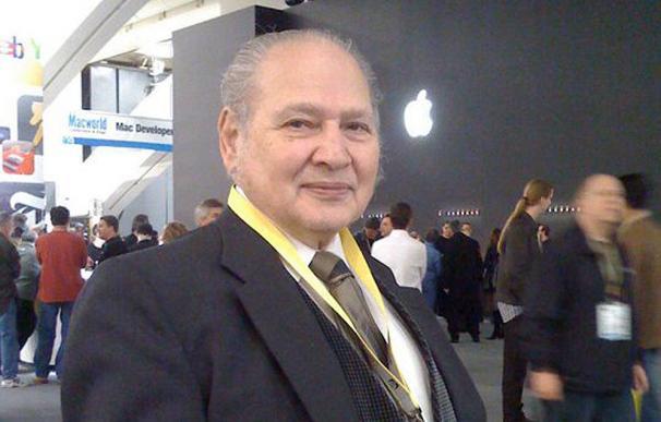 Ron Wayne en la feria MacWorld de 2009