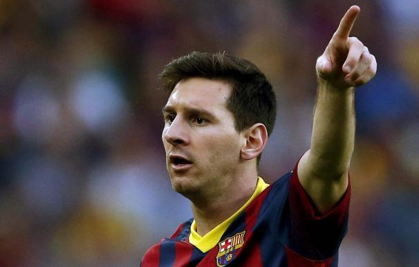 Messi alcanza a Raúl