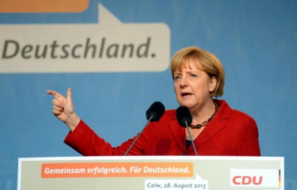 """Merkel califica de """"lamentable"""" la postura de China y de Rusia ante el conflicto sirio"""