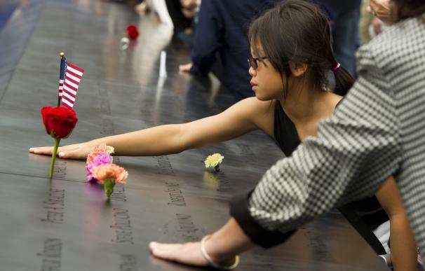 Los niños del 11S honran a sus seres queridos quince años después de los ataques