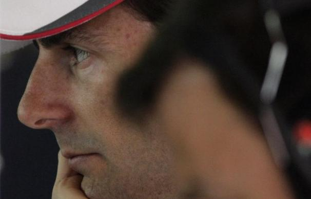 HRT estrenará el jueves el F112 en Montmeló, Alonso rodará el viernes y el domingo