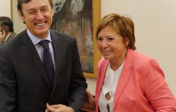 """Villalobos, presidenta de la Comisión del Pacto de Toledo, llama a """"recuperar el espíritu"""" de ese acuerdo"""