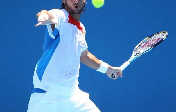 Feliciano López, eliminado por Roger Federer en Dubai