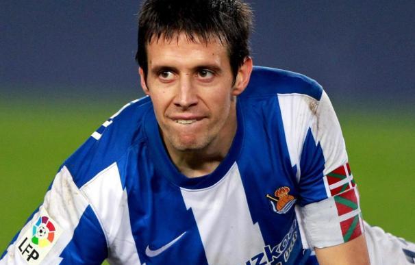 Lorena Gallego ya acosó hace cinco años al jugador de futbol de la Real Sociedad Mikel Aranburu