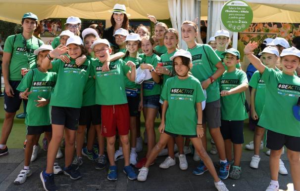 Ruth Beitia abre la II Semana Europea del Deporte