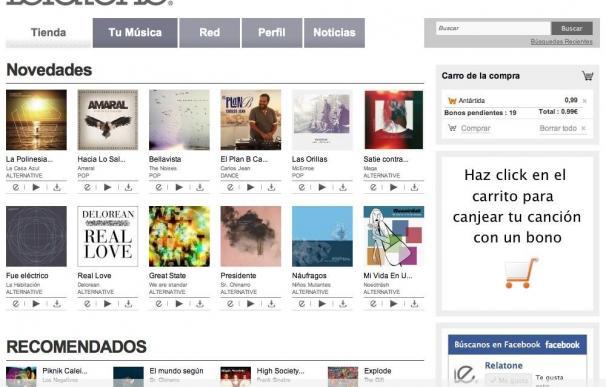 Nace una nueva tienda online para descargar y compartir música