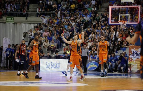 Crónica del Valencia Basket - Laboral Kutxa, 74-73