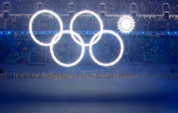 Sochi, los JJOO más caros de la historia, pierden un aro olímpico en su ceremonia de inauguración