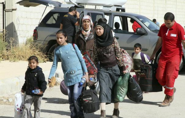 Comienza la evacuación de civiles de las zonas cercanas a la ciudad siria de Homs