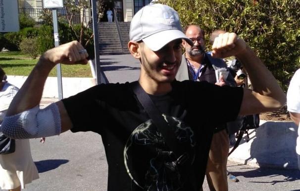 Dan el alta al joven con leucemia Pablo Ráez, que seguirá animando a donar médula
