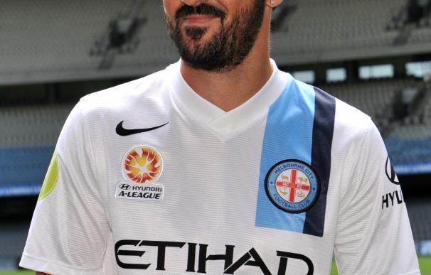 David Villa, presentado con el Melbourne City