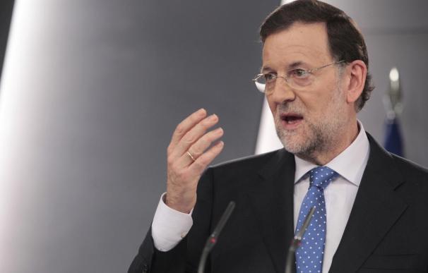 """Rajoy: """"Plantear la reforma del modelo de financiación autonómica es plantear el reparto de lo que no hay"""""""