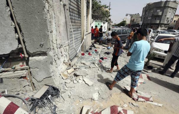 13 Muertos y 35 heridos en varios bombardeos en la ciudad libia de Kikla
