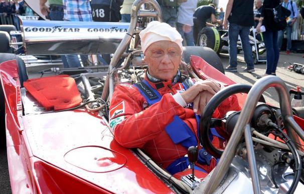 Fotografía de Niki Lauda.